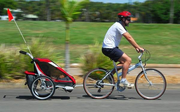 Trailers to Tow child bike trailer