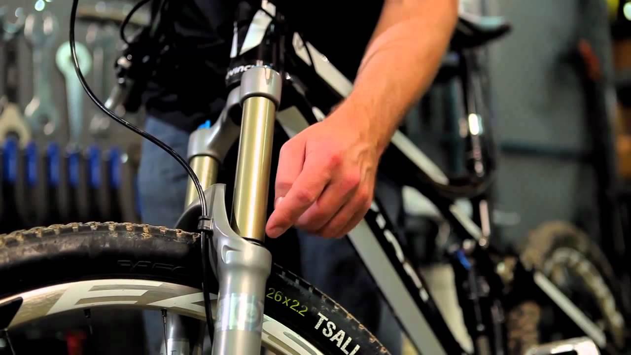 mountain bike suspension check