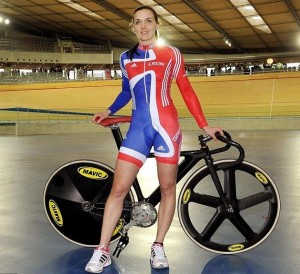 Cyclist Legs - Victoria Pendleton
