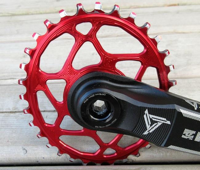 absolute black oval chainrings