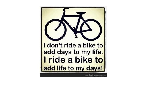 Ride a Bike Too...