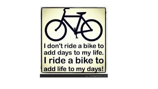 Ride a Bike Too...