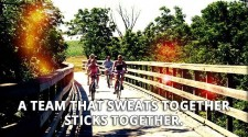 A Team That Sweats Together…