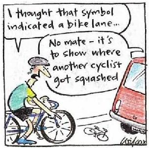 bike lane joke