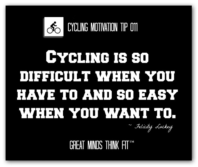 Cycling Can Be Difficult