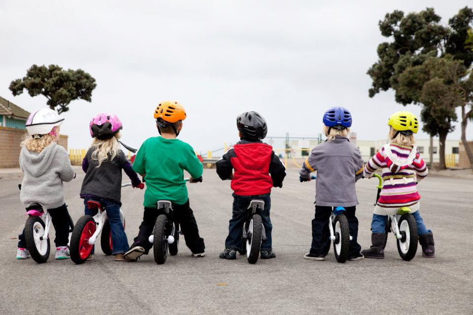 getting kids into bike riding