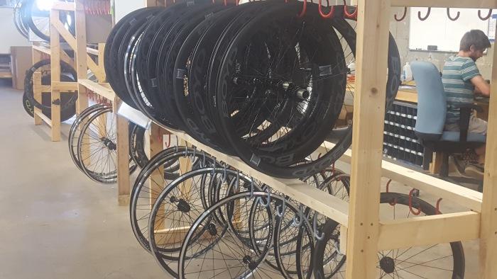Boyd Wheels Mid-Build