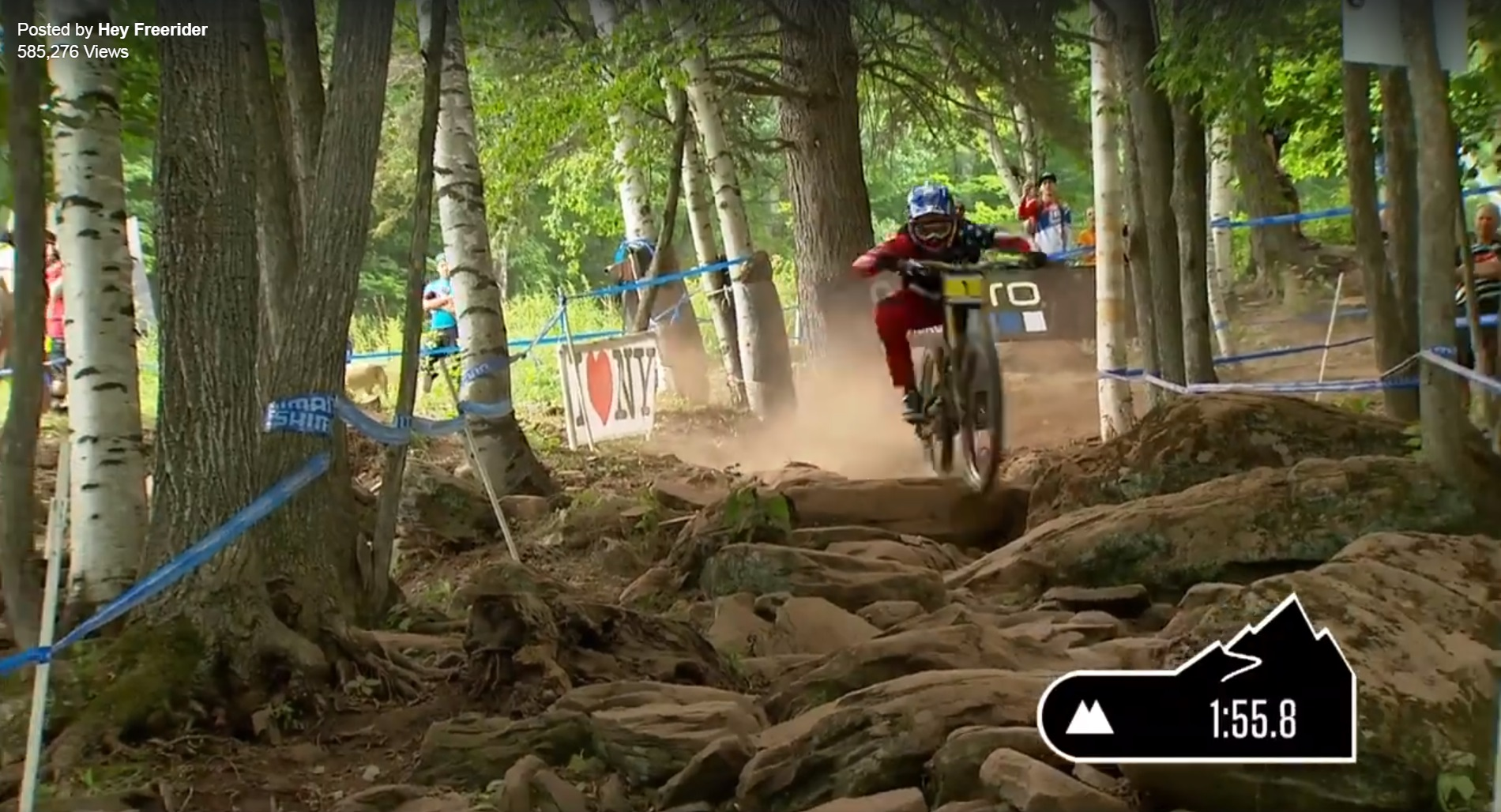Crazy World Cup Downhill Video - Aaron Gwin