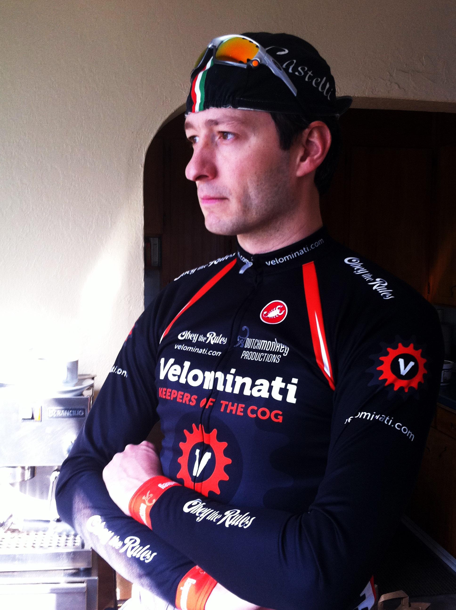 cycling cap backwards brim up
