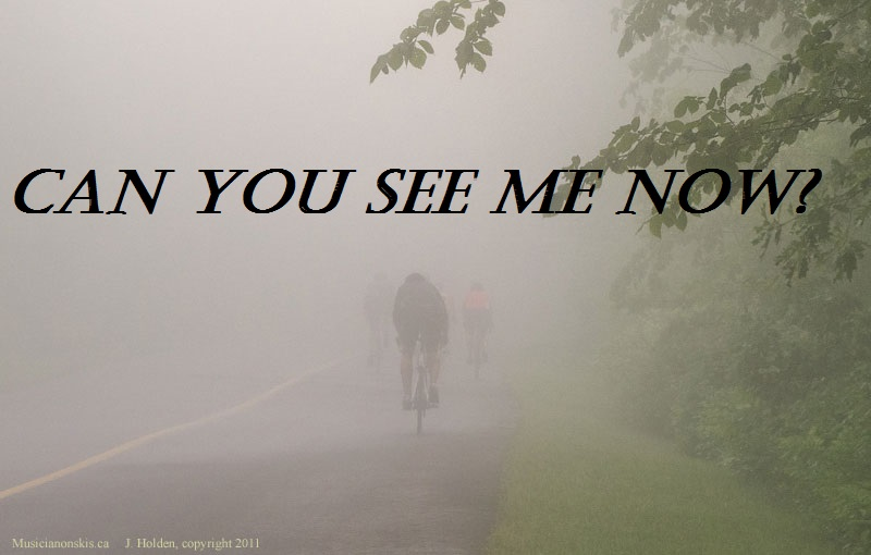 cycling in fog