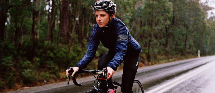 women's cycling rain jacket