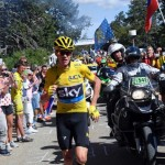 Chris Froome Running To Keep Lead in Tour de France