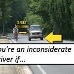 You're An Inconsiderate Driver If…A Lesson For Drivers