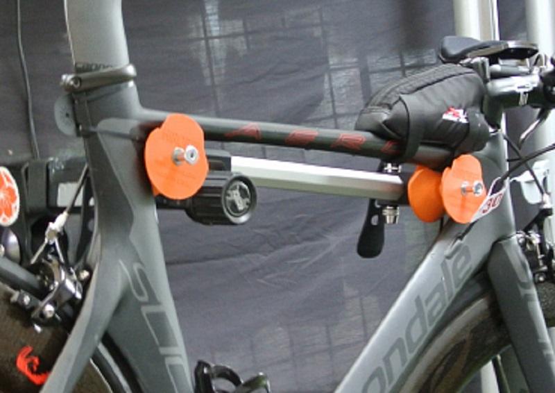 Hirobel Carbon Bike Frame Clamp - I Love Bicycling