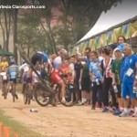 Olympic Crashes in the Rio Men's Mountain Bike Event