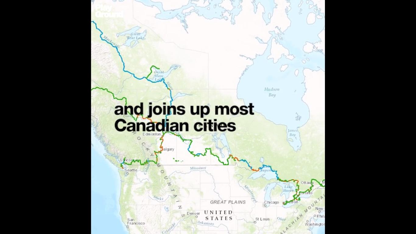 longest-car-free-road