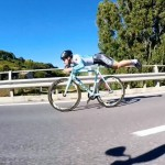 The Superman Position On A Bike – Faster Than Pedaling