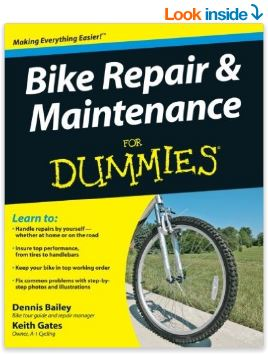 bike repair and maintenance book