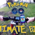 Biking and Pokemon Go!
