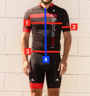 Cycling Jersey Measurements