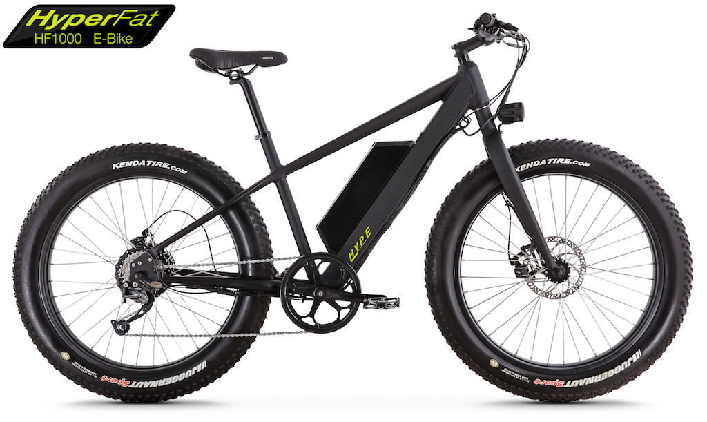 e-bike with fat tires for snow and ice