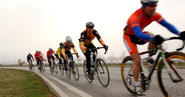 Drafting in Cycling