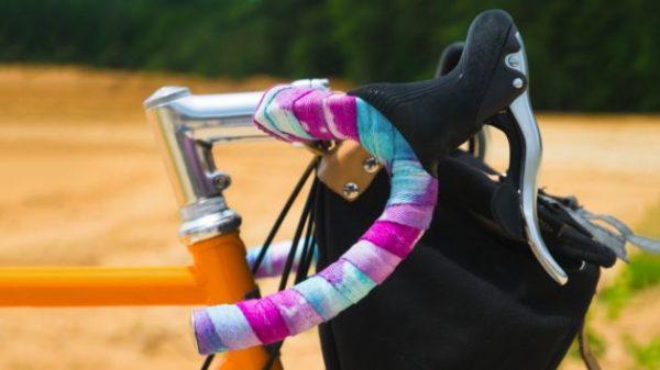 Road Bike Bicycle Handlebar Bar Grip Silicone Foam Tape White