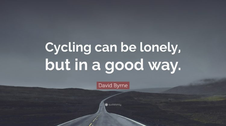 Riding Alone: Make the Most of Cycling Solo